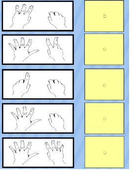 Counting Up to 10 File Folder Game {Autism/Special Education/Kindergarten}
