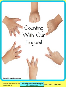 Counting Up to 10 File Folder Game {Autism/Special Educati
