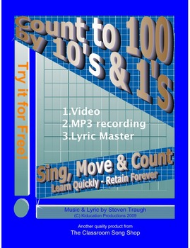 Counting Up to 100 by 10's & 1's Song & Movement Game