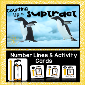 Counting Up to Subtract Strategy Activity Cards