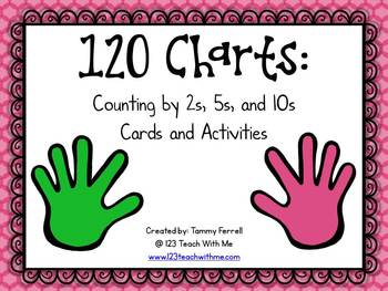 Counting Using 120 Charts: 2s, 5s, and 10s