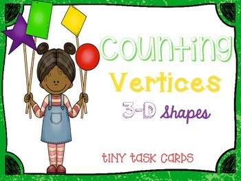 Counting Vertices 3D Shapes