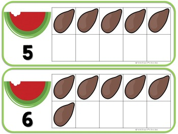 Counting Watermelon Seeds-A Counting Book for Summer {Early Childhood}