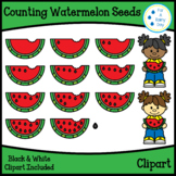 Counting Watermelon Seeds Clipart