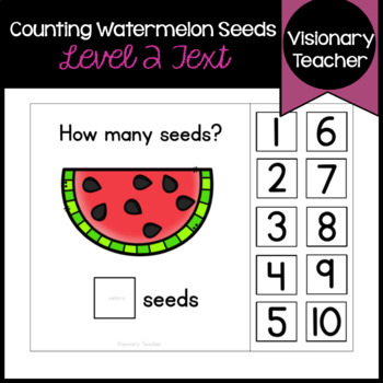 Counting Watermelon Seeds - Interactive Books (SET OF 2)