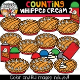 Counting Whipped Cream Clipart {Apple Pie Clipart}