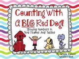Counting With A Big, Red Dog {Numbers 11-20, Tens Frames, and Tallies}