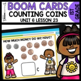 Counting With Coins BOOM CARDS | DIGITAL TASK CARDS | Modu