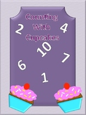 Counting With Cupcakes File Folder