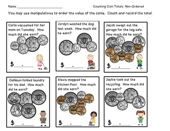 Counting With Half-Dollars and Other Coins