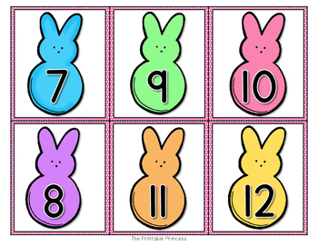 Spring Activities for Numbers to 30