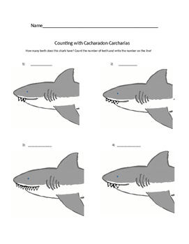 STEM Sharks: Counting