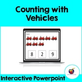 Counting With Vehicles (Interactive Powerpoint) - Distance