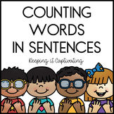 Counting Words in Sentences