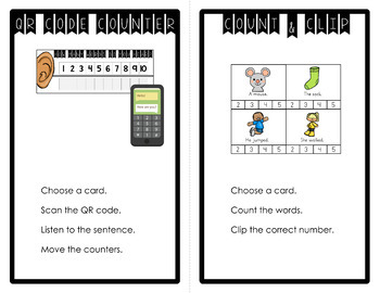 Counting Words in Sentences {Sentence Segmentation}