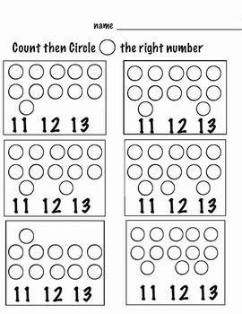 Counting Fun - 1-20 (Animals 1-10, Shapes 11-20) 30 Pages ...