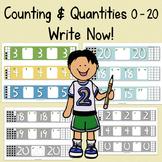 Write Numbers & Represent Quantities 0 - 20