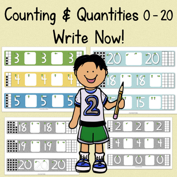 Write Numbers & Represent Quantities 0 - 20