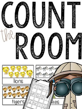 Zoo Count the Room (Numbers 1-20)