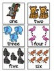 Counting Zoo! A Math Center Game, Matching Numbers 1-20