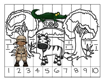 Counting Zoo Puzzles