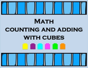 Counting and Adding Math Cubes