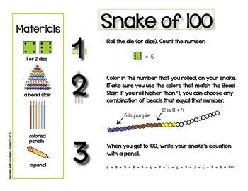 Montessori Counting Game