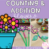 Counting and Addition Flowers