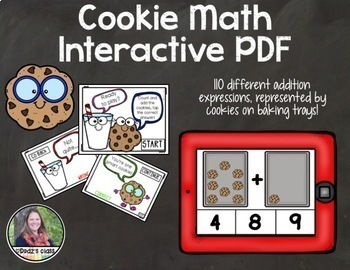 Counting and Addition Interactive PDF Games, Addition to 20 {BUNDLE}