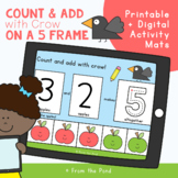 Counting and Addition on a Five Frame Activity Mats