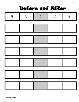 Counting and Cardinality Pack