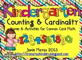 Counting and Cardinality Activities for Kindergarten {Alig