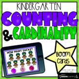 Counting and Cardinality BOOM CARDS - Distance Learning