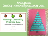 Counting and Cardinality Christmas Trees- Kindergarten Sta