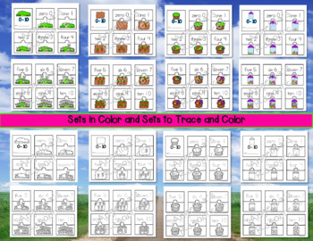 Number Sense : Easter Activities - Number Puzzles 0-10