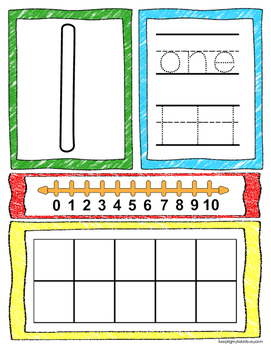 Counting and Cardinality - FREE PREVIEW - Math Centers - Journals - Worksheets