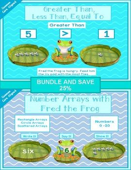 Math Frog Bundle