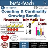 Counting and Cardinality Bundle: Tally Marks, Pictographs, Bar Charts