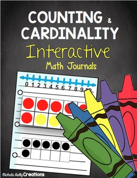 Counting and Cardinality Interactive Math Journals - Seat Work - Self Starters