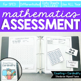 Counting and Cardinality Math Assessment for K-3