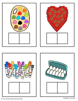 Counting and Cardinality Math Center (Freebie)