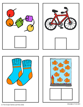 Counting and Cardinality Math Center Freebie