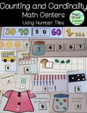 Kindergarten Math Centers Counting and Cardinality