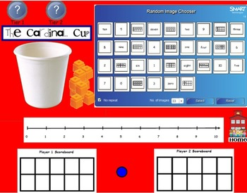 Common Core Counting and Cardinality SMARTboard Games