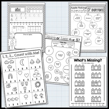 Counting and Cardinality - Numbers 1-10