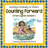 Counting and Cardinality for Kinders: Counting forward from a given number