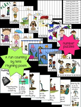 Counting and Cardinality for Kinders: Counting to 100 by ones and tens