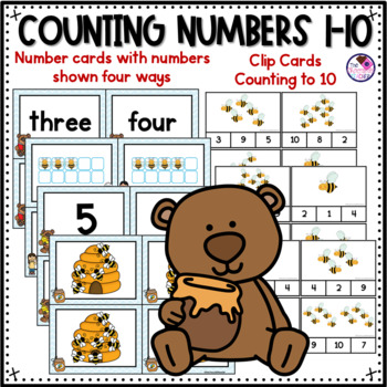 Number Sense to 10 Counting and Cardinality CCSS