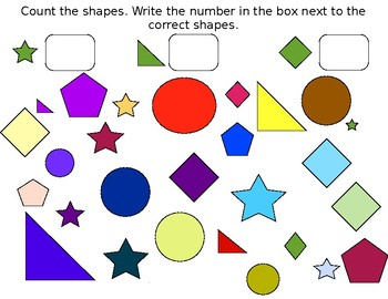 Counting and Categorizing Shapes