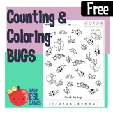 Counting and Coloring Bugs - Easy ESL Games